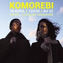 Komorebi au Printemps de Bourges